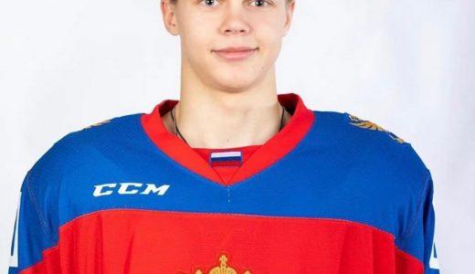 Воспитанник «Ермака» защитник Владимир Грудинин попал в расширенный состав юниорской сборной России на ЧМ-2021